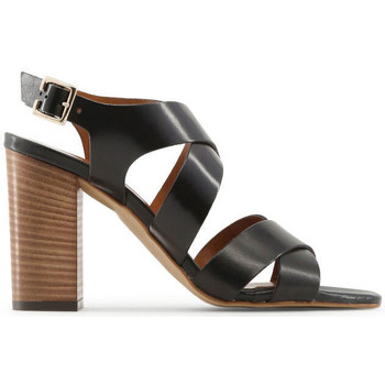 Schuhe Damen Sandalen / Sandaletten Made In Italia - loredana Schwarz