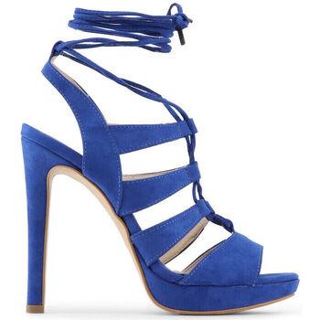 Schuhe Damen Sandalen / Sandaletten Made In Italia - flaminia Blau