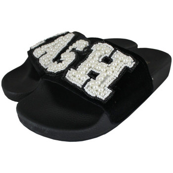 Schuhe Damen Pantoletten Thewhitebrand Cash black Schwarz
