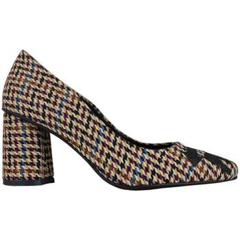 Schuhe Damen Pumps Thewhitebrand Stiletto school brown Braun