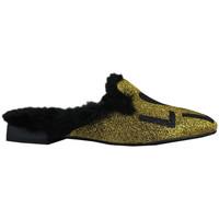 Schuhe Damen Hausschuhe Thewhitebrand Loafer sand gold Gold