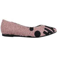 Schuhe Damen Sneaker Thewhitebrand Bailarina tag pink Rose