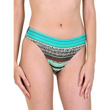 Kleidung Damen Bikini Ober- und Unterteile Lisca Freetown  Badeanzug-Strümpfe Dunkelgrün