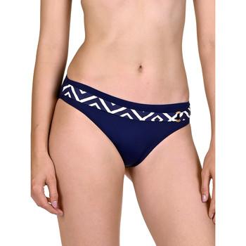Kleidung Damen Bikini Ober- und Unterteile Lisca Badeanzug Strümpfe Costa Rica blau Blau