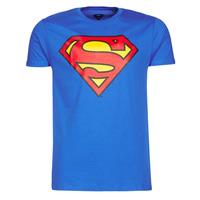 Kleidung Herren T-Shirts Yurban SUPERMAN LOGO CLASSIC Blau