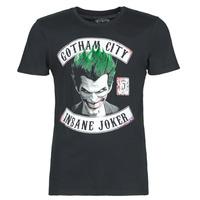 Kleidung Herren T-Shirts Yurban INSANE JOKER Schwarz