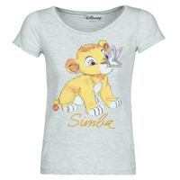 Kleidung Damen T-Shirts Moony Mood THE LION KING Grau