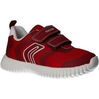 Schuhe Jungen Multisportschuhe Geox B922BA 01454 B WAVINESS Rojo