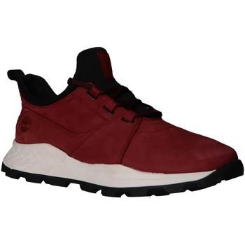 Schuhe Herren Multisportschuhe Timberland A223P Brooklyn Rojo