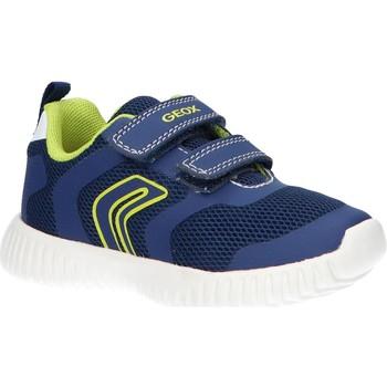 Schuhe Jungen Multisportschuhe Geox B922BA 01454 B WAVINESS Azul