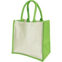 Taschen Damen Shopper / Einkaufstasche Westford Mill W421 Apfelgrün