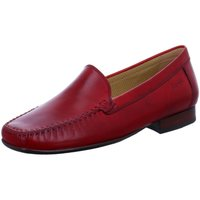Schuhe Damen Slipper Sioux Slipper campina rot
