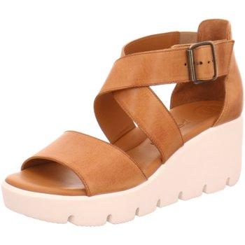 Schuhe Damen Sandalen / Sandaletten Paul Green Sandaletten 7343 braun