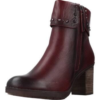 Schuhe Damen Low Boots Carmela 66987C Rot