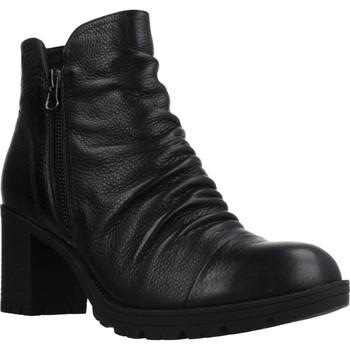 Schuhe Damen Low Boots Carmela 66869C Schwarz