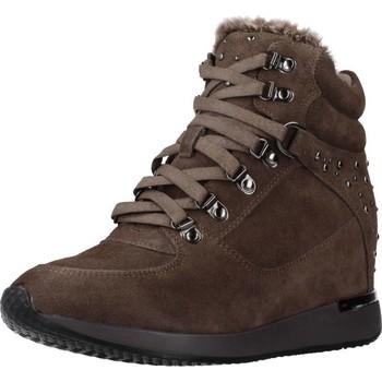 Schuhe Damen Sneaker High Carmela 66878C Brown