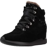 Schuhe Damen Sneaker High Carmela 66878C Schwarz