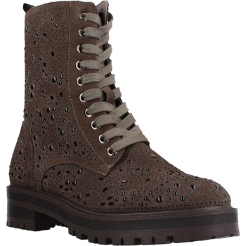 Schuhe Damen Low Boots Carmela 66990C Brown