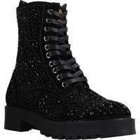 Schuhe Damen Low Boots Carmela 66990C Schwarz
