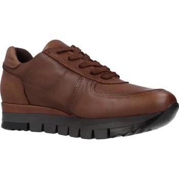 Schuhe Damen Sneaker Low Carmela 67099C Brown