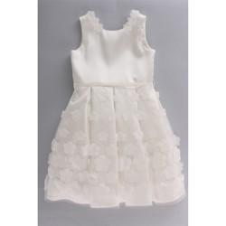 Kleidung Kinder Kleider & Outfits Bella Brilli BB203050 Elfenbein