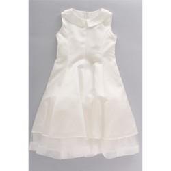 Kleidung Kinder Kleider & Outfits Bella Brilli BB203059 Elfenbein