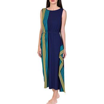 Kleidung Damen Maxikleider Lisca Langes Sommerkleid Dominica blau Blau