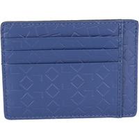 Taschen Herren Portemonnaie Alviero Martini brieftasche ALV blau leder BN201 blau