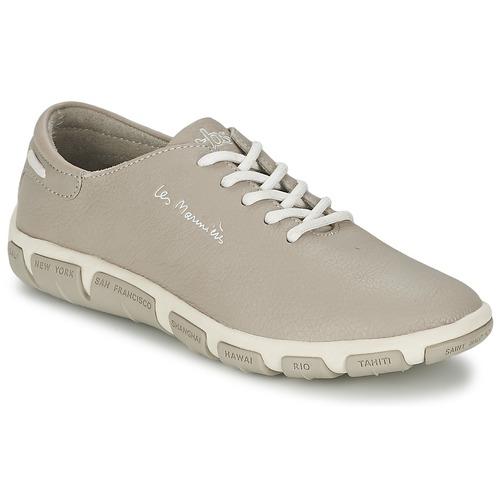 Schuhe Damen Sneaker Low TBS JAZARU Grau