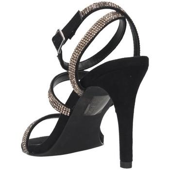 Steve Madden SMSEQUAL-BLKCRY schwarz - Schuhe Sandalen / Sandaletten Damen 10115