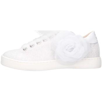 Schuhe Mädchen Sneaker Low Florens K111852B Sneaker Kind weiß weiß