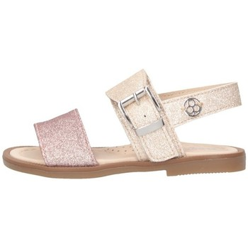 Schuhe Mädchen Sandalen / Sandaletten Florens J062155J Sandalen Kind Akt / Creme Akt / Creme