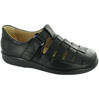 Schuhe Herren Slipper Ganter Slipper 256731-100 - Importiert, Schwarz schwarz