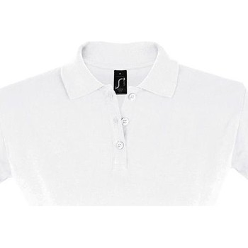 Kleidung Damen Polohemden Sols PERFECT COLORS WOMEN Blanco