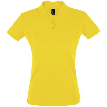 Kleidung Damen Polohemden Sols PERFECT COLORS WOMEN Amarillo