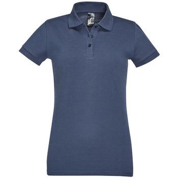 Kleidung Damen Polohemden Sols PERFECT COLORS WOMEN Azul