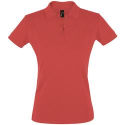 Kleidung Damen Polohemden Sols PERFECT COLORS WOMEN Rojo