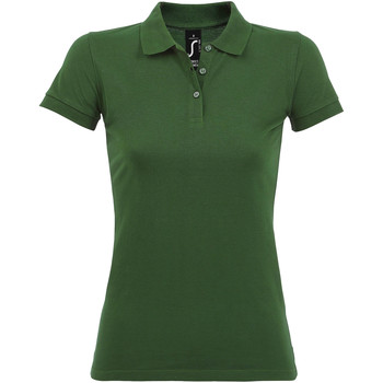 Kleidung Damen Polohemden Sols PERFECT COLORS WOMEN Verde