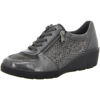 Schuhe Damen Sneaker Low Semler Schnuerschuhe J7085900/118 grau