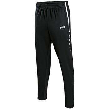 Kleidung Herren Jogginghosen Jako Sport Trainingshose Active 8495 08 schwarz