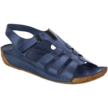 Schuhe Damen Sandalen / Sandaletten Gemini Sandaletten 032006 jeans blue blau