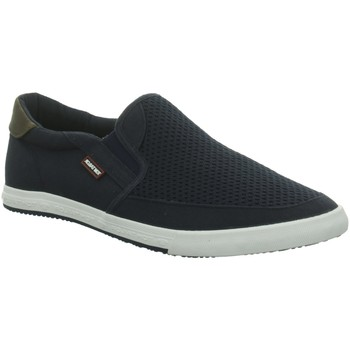 Schuhe Herren Slip on Tom Tailor Slipper Slipper,navy 8080603 00003 blau