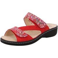 Schuhe Damen Pantoffel Hickersberger Pantoletten 2846-4042 rot
