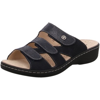 Schuhe Damen Sandalen / Sandaletten Hickersberger Pantoletten Pantolette Vario 5111,7301 blau