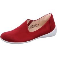 Schuhe Damen Slip on Think Slipper 6-86214-70 rot
