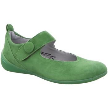 Schuhe Damen Ballerinas Think Slipper 6-86216-43 grün