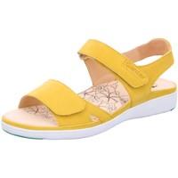 Schuhe Damen Sandalen / Sandaletten Ganter Sandaletten Gina 9-200122-8400 9-200122-8400 gelb