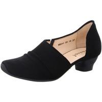 Schuhe Damen Slipper Think Slipper 6-86244-00 schwarz