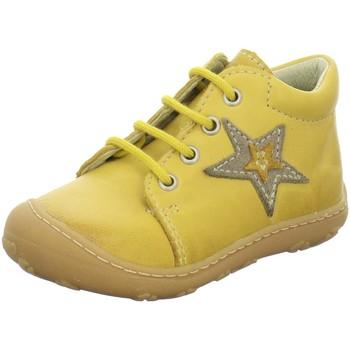Schuhe Jungen Boots Ricosta Schnuerschuhe Romy 1222500-761-Romy gelb