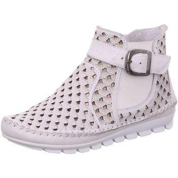 Schuhe Damen Boots Gemini Stiefeletten Sommerstiefelette 382010-19/001 weiß